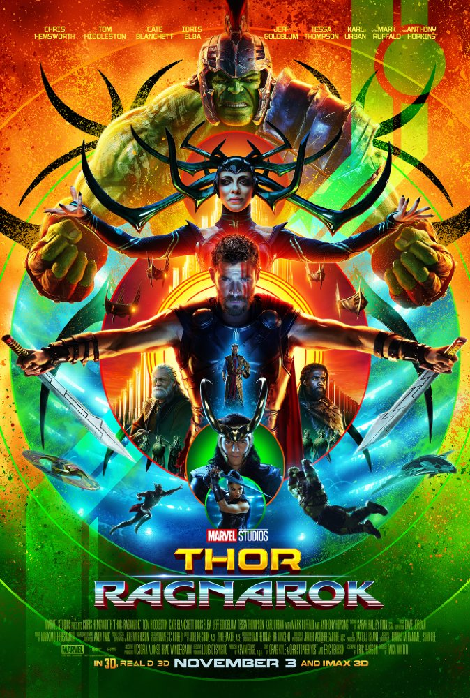 Thor: Ragnarok   (2017) Directed by Taika Waititi Additional Music by Andrew Kawczynski