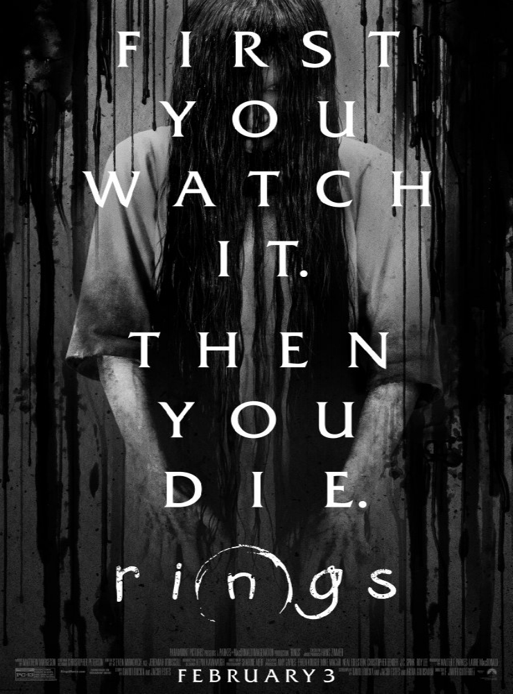 Rings   (2017) Directed by F. Javier Gutiérrez Additional Music by Andrew Kawczynski