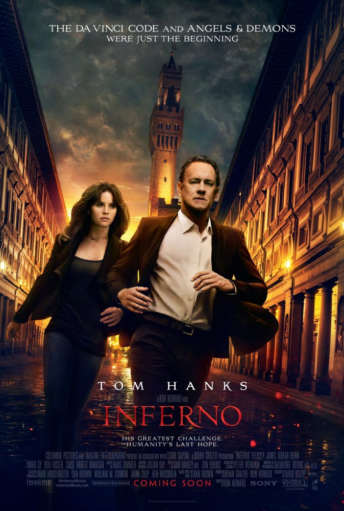 Inferno   (2016) Directed by Ron Howard Additional Music by Andrew Kawczynski