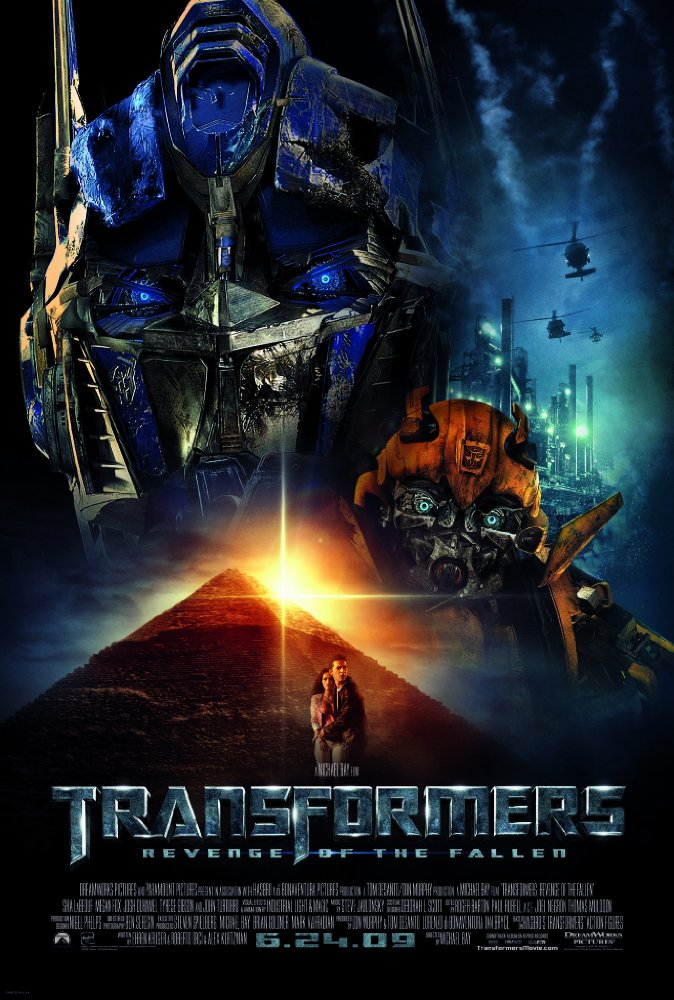Transformers: Revenge of the Fallen   (2009) Directed by Michael Bay Ambient Music Design by Andrew Kawczynski