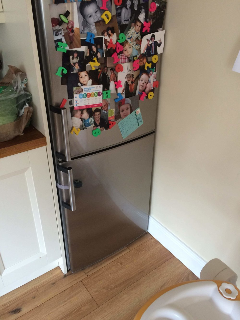 the toddler fridge
