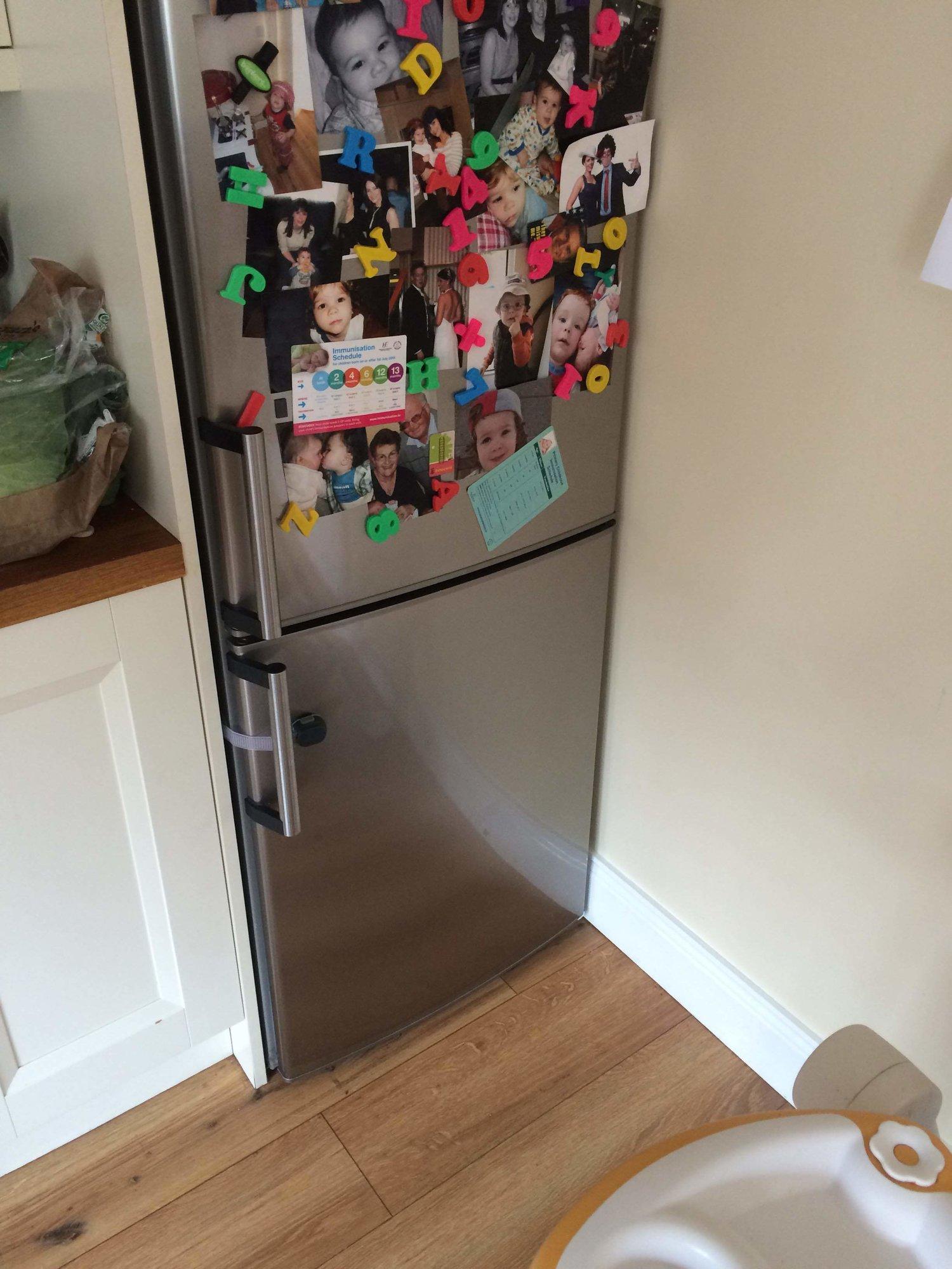 the toddler fridge