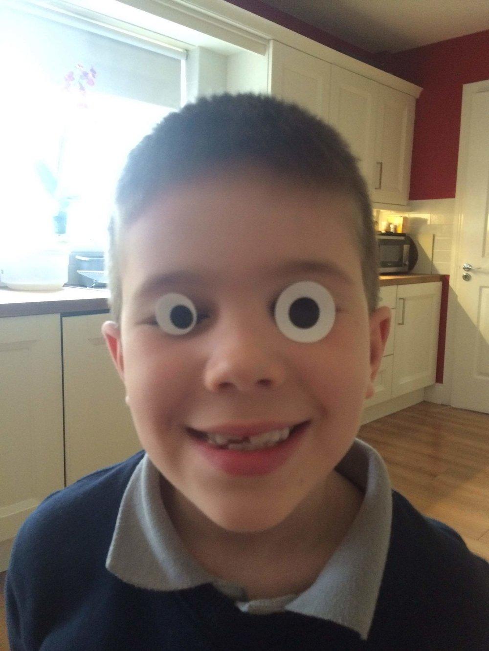 funny eyes ben