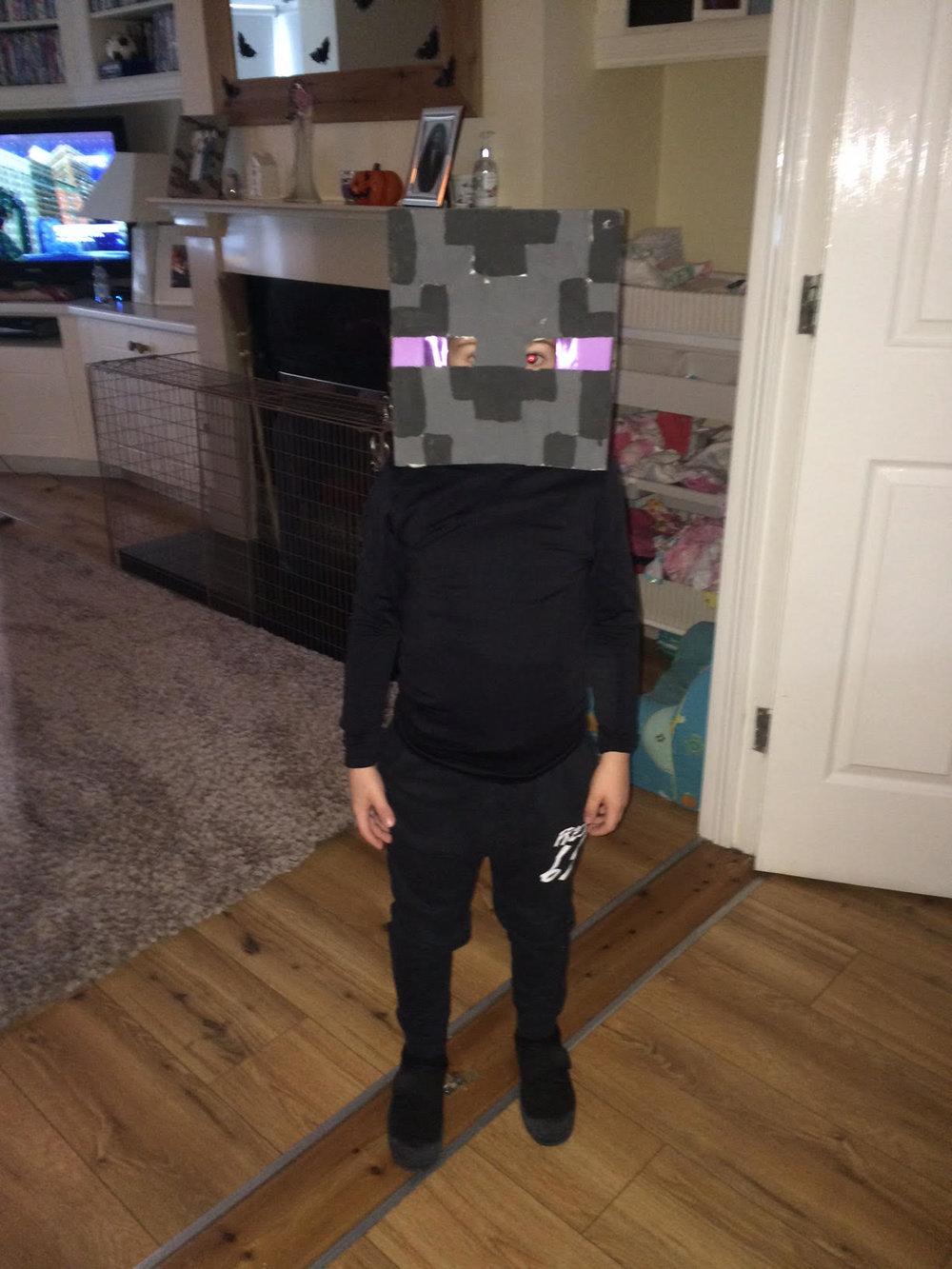 Enderman Costume