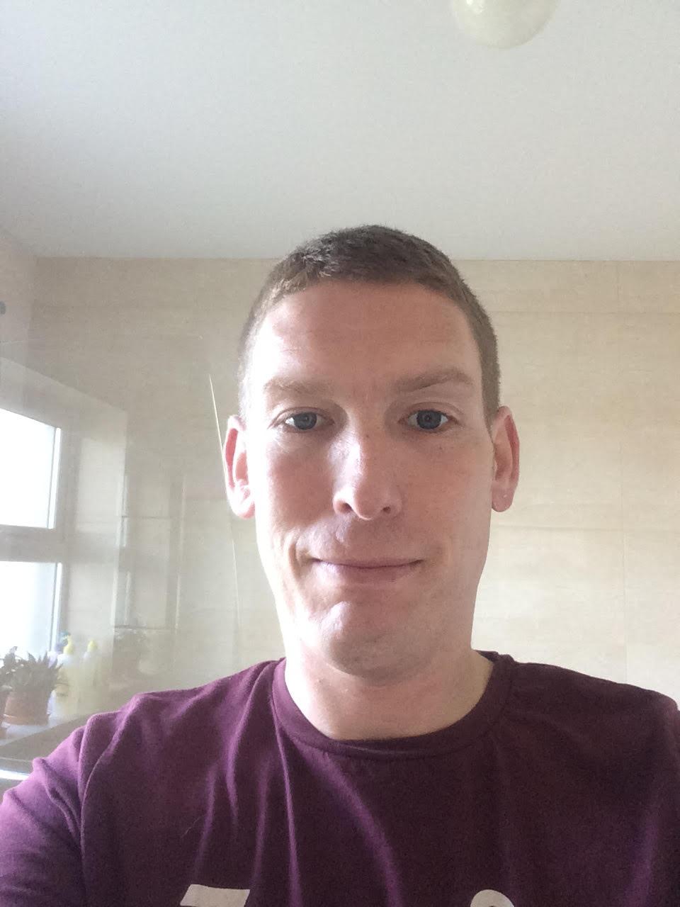 After the 1st shave..... feeling apprehensive