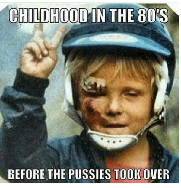 Ah.....the good old days. BMXs and Choppers over homemade ramps