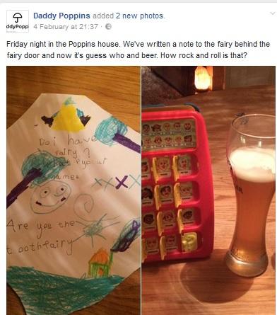 Daddy Poppins Facebook