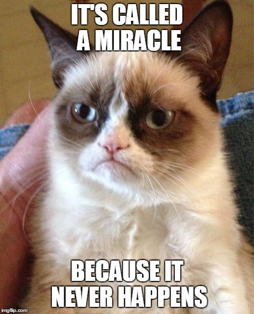 grumpy cat miracle