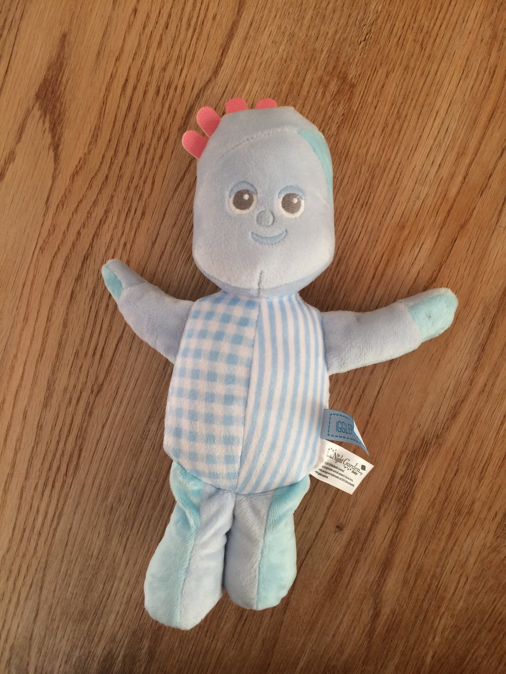 We got Iggle Piggle and he's really well put together (plus he's Bellas favourite)