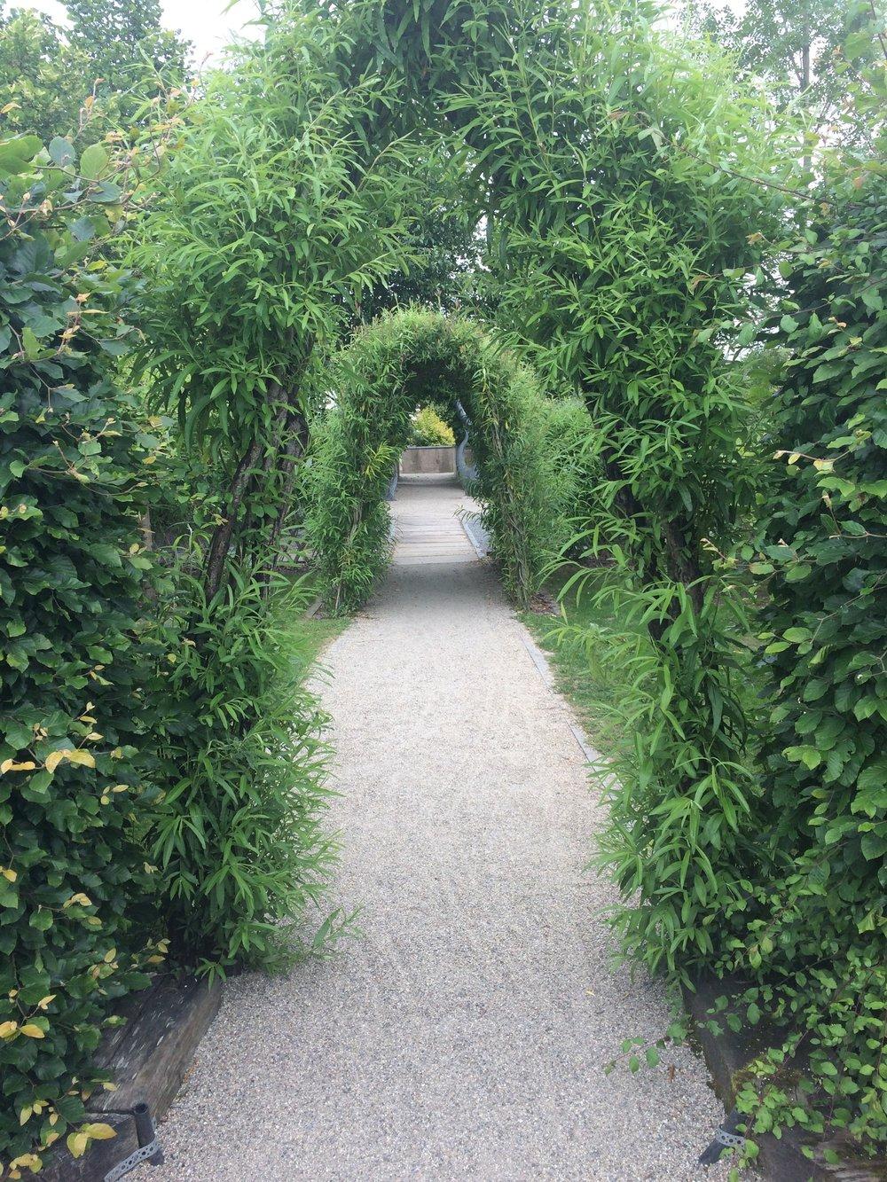 view at Delta Sensory Gardens