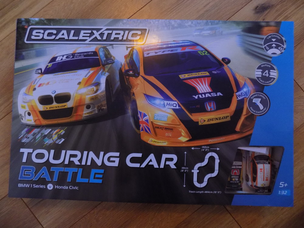 Scalectrix Touring Car Battle set