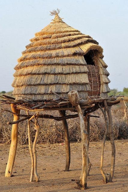 granary, Sudan, (unable to find image credit)