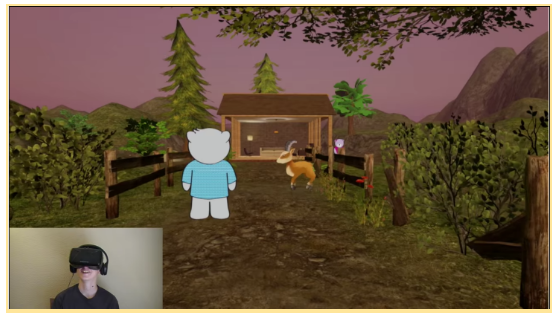 Screenshot from VR Kids' very first VR animation