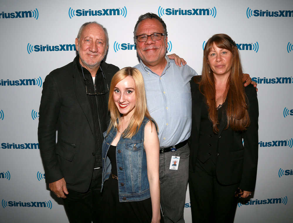 Pete Townshend, Rachel Fuller and Lauren Hornek