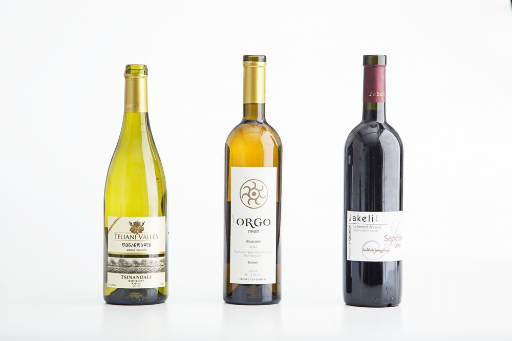 Wines from the former Republic of Georgia