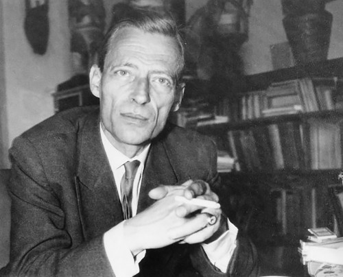 Prussian-born poet and integral philosopher, Jean Gebser (1905–1973)