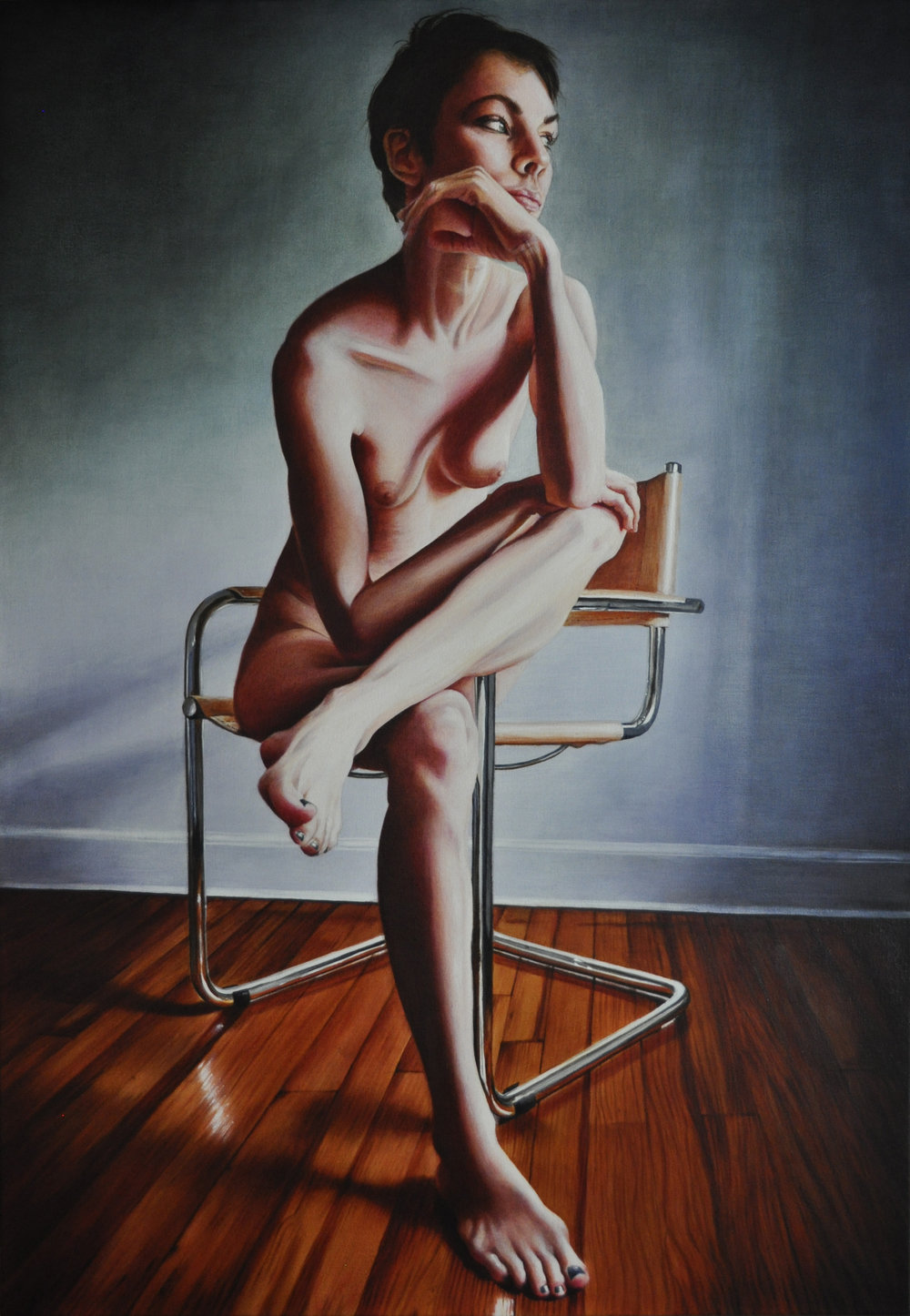 Victoria Selbech Good Nurse of the North Acrylic on Canvas 51 x 35
