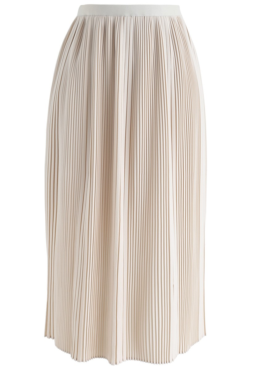Someone to Love Pleated Skirt