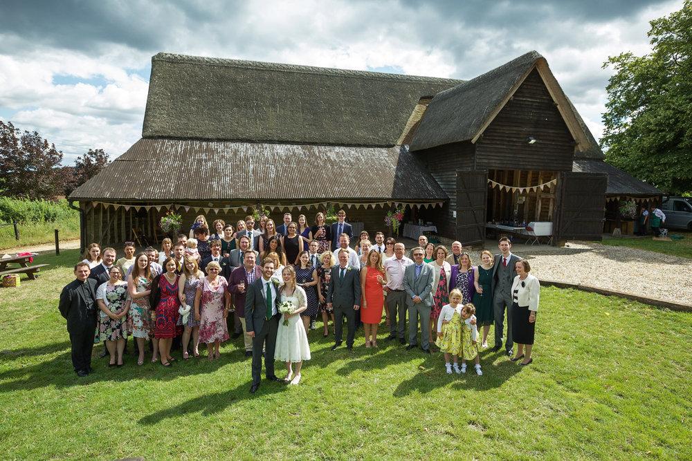 Black Barn, Rushall Farm Wedding Venue