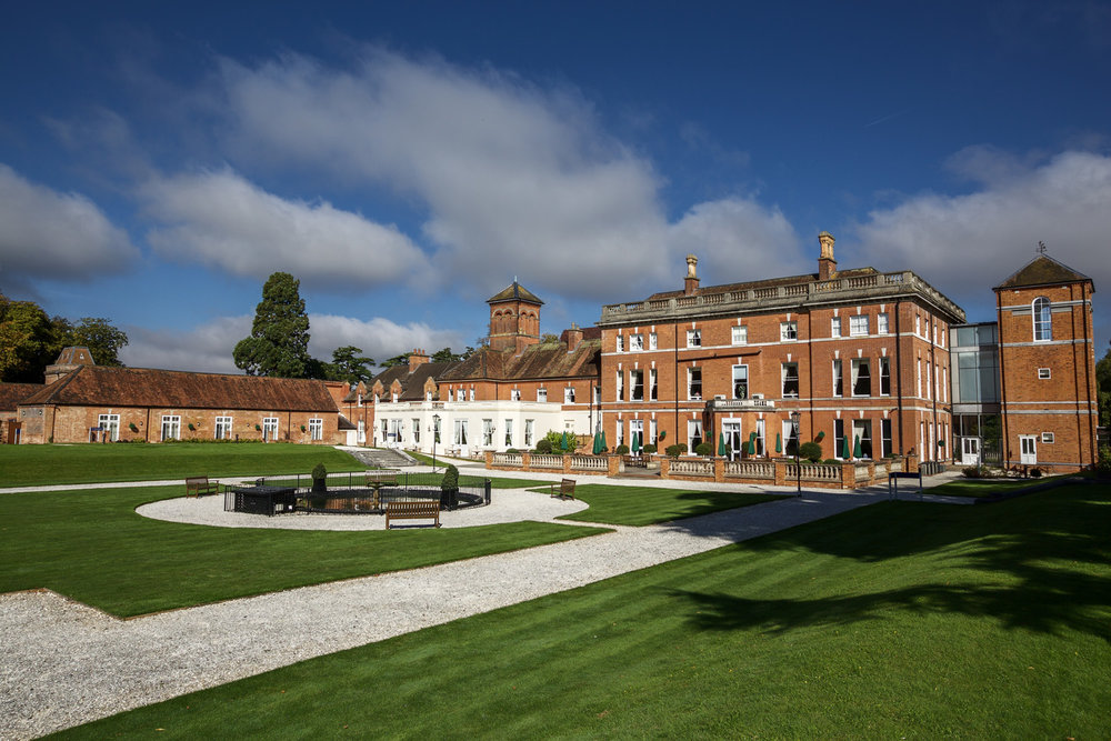Oakley Hall Wedding venue in Hampshire Photographer