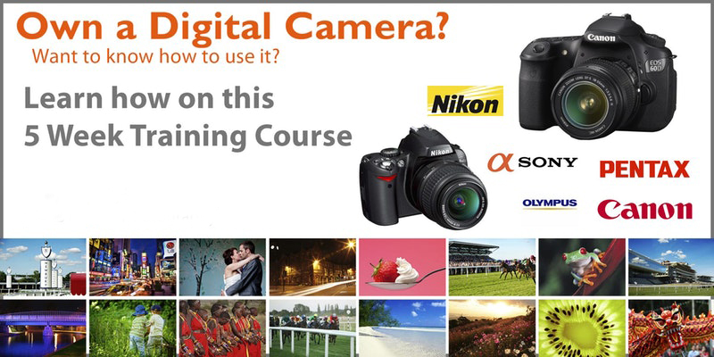 Digital SLR Photography 5 Week Training Course - Start Date: 12th Sept 2017Time:  19:00 – 21:30Course Cost: £120 - £150