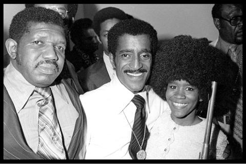 Sammy Davis Jr. at Harlem Prep