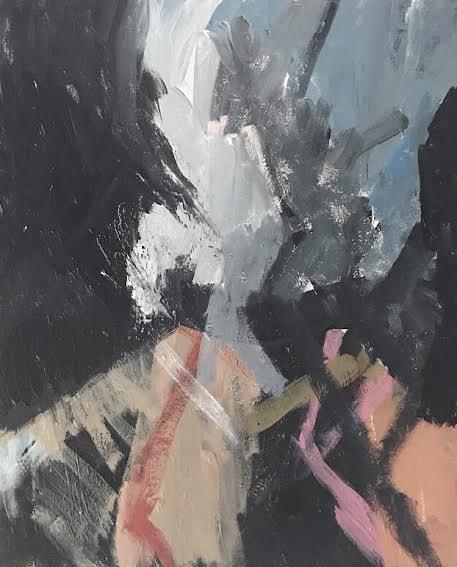 Right Before Dusk, Acrylic on Canvas, 2018