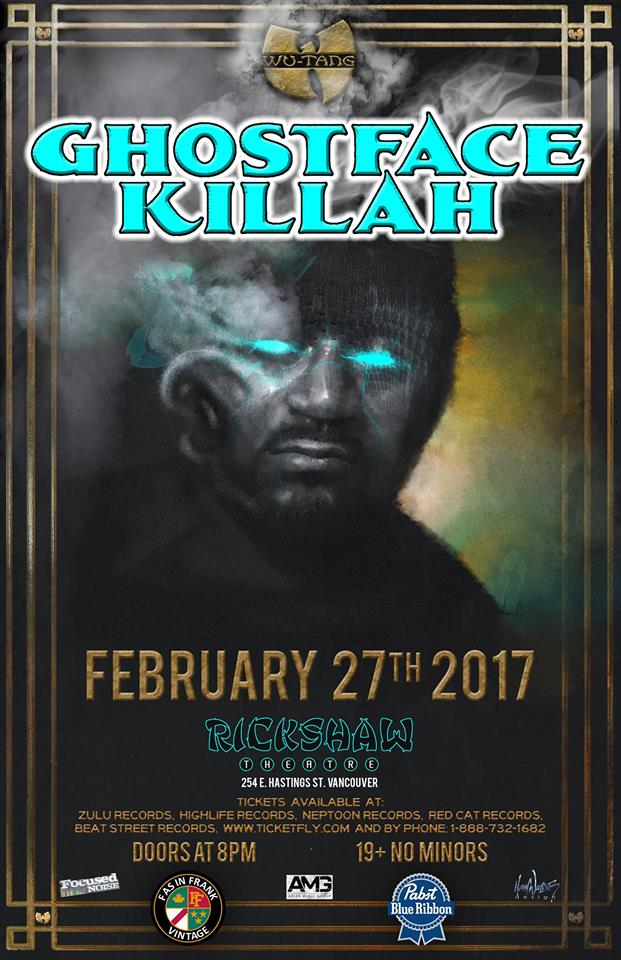 The People North West with Ghostface Killah in Vancouver, Whistler and Victoria