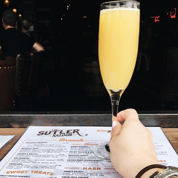 Bottomless Mimosas - Sutler Saloon