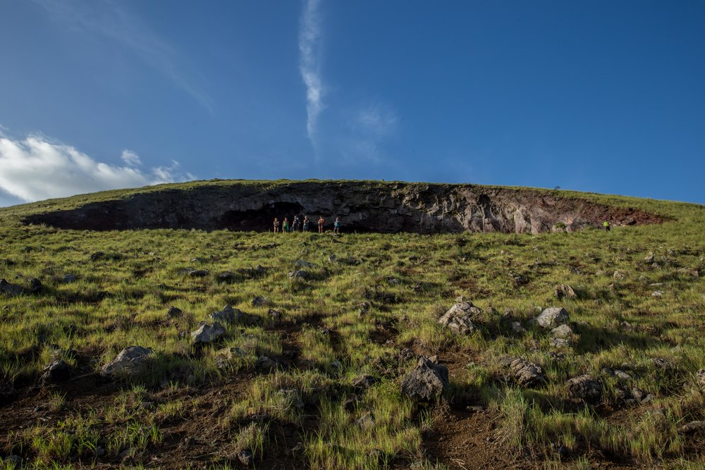 The Hole at Volcan El Hoyo