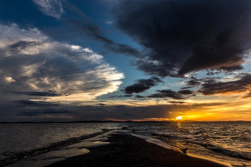 Sunset at Punta Jesus Maria