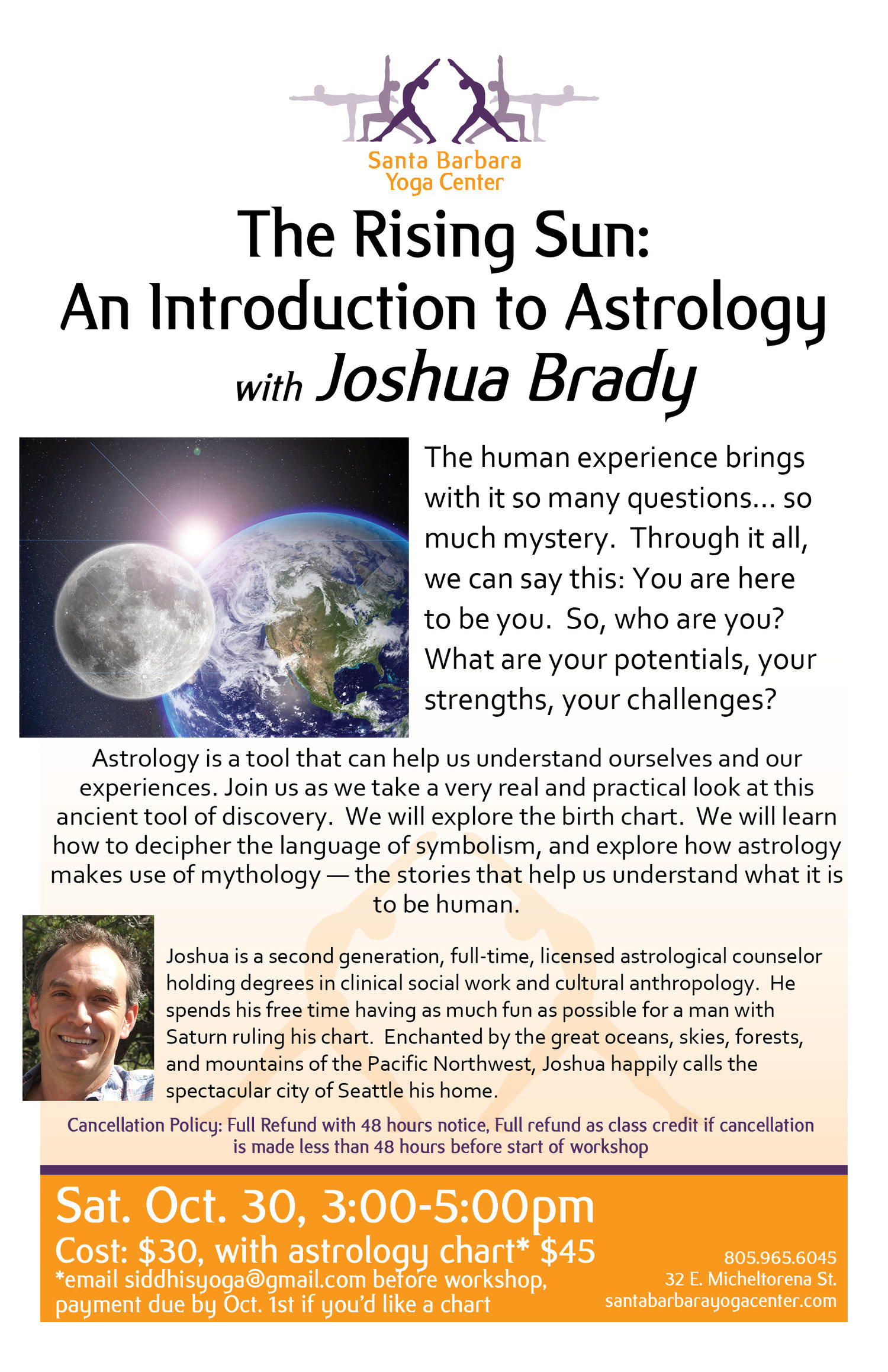The Rising Sun - An Introduction to Astrology | Siddhi's School of Yoga