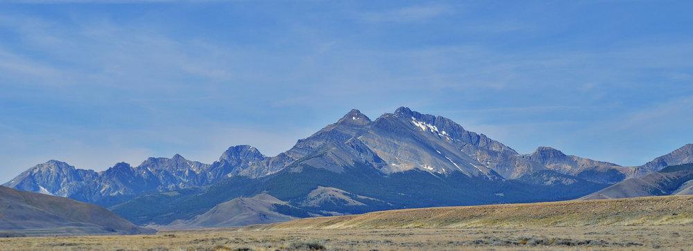 Mount Borah Lost River Range via BML on  Flickr
