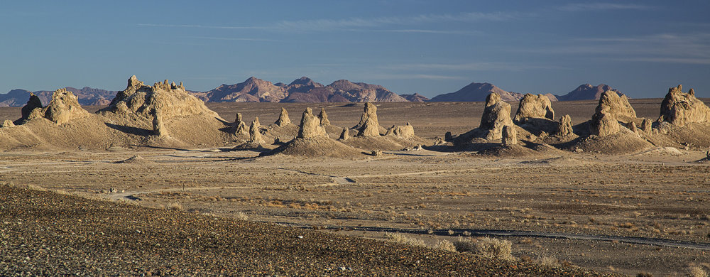 Trona Pinnacles, California via BML on  Flickr