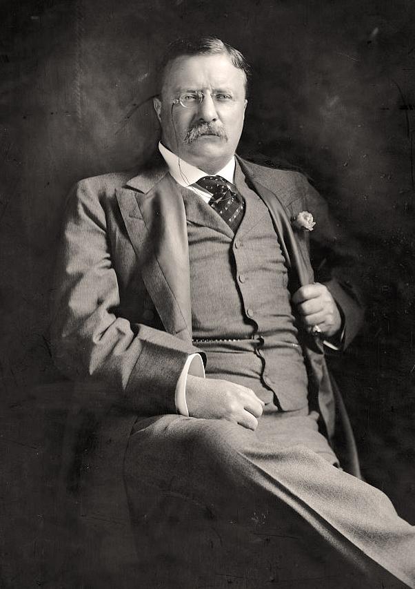 Theodore Roosevelt via Flickr