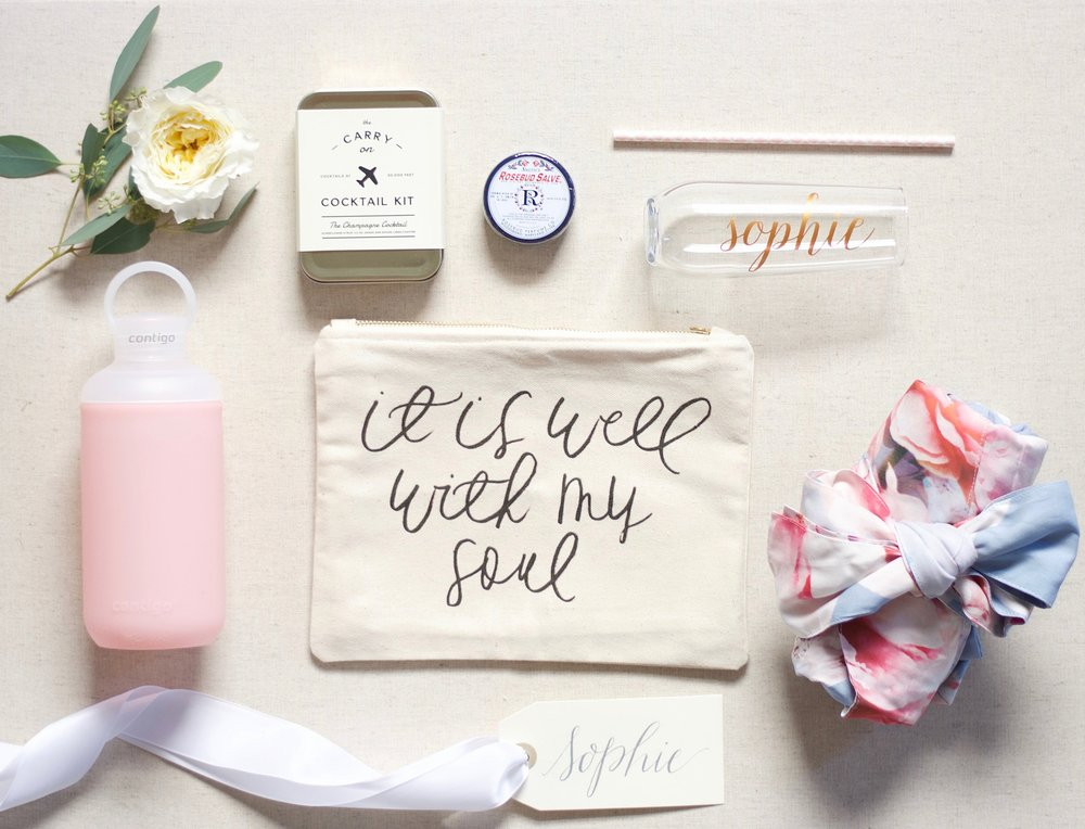 Lotte's Bridesmaid Gifts
