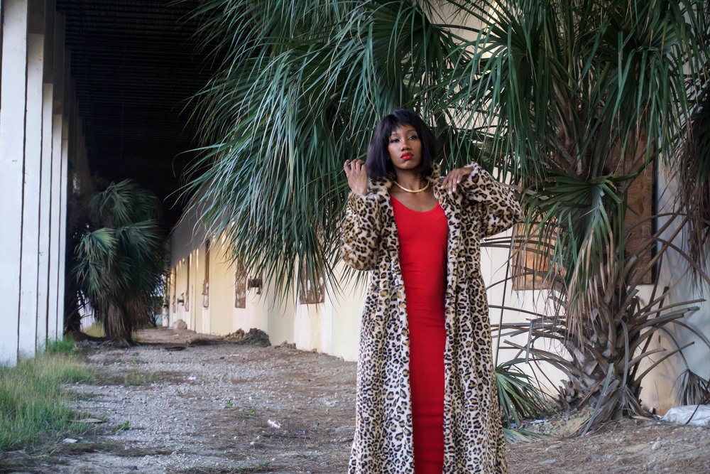 Leopard Fur Coat - Joanne The Scammer Inspired