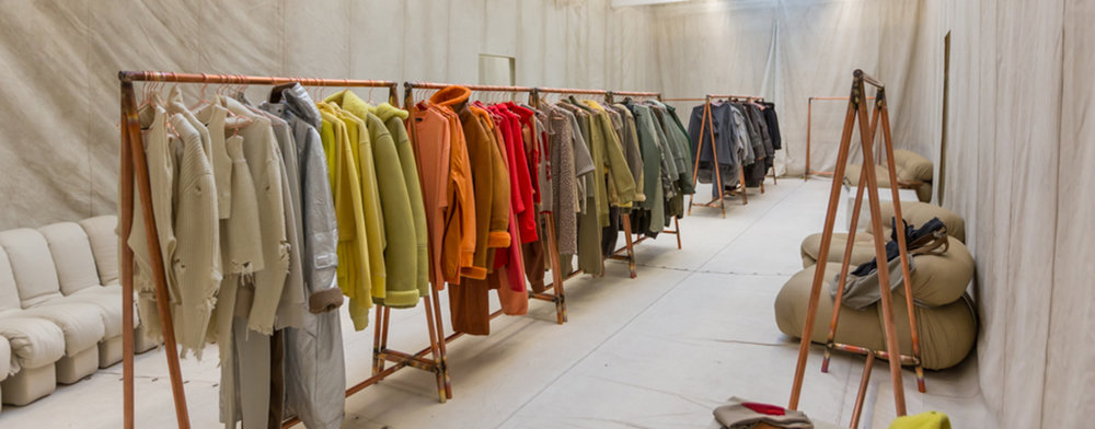 Yeezy Season 3 Showroom  (Source:  Willo Perron & Associates )