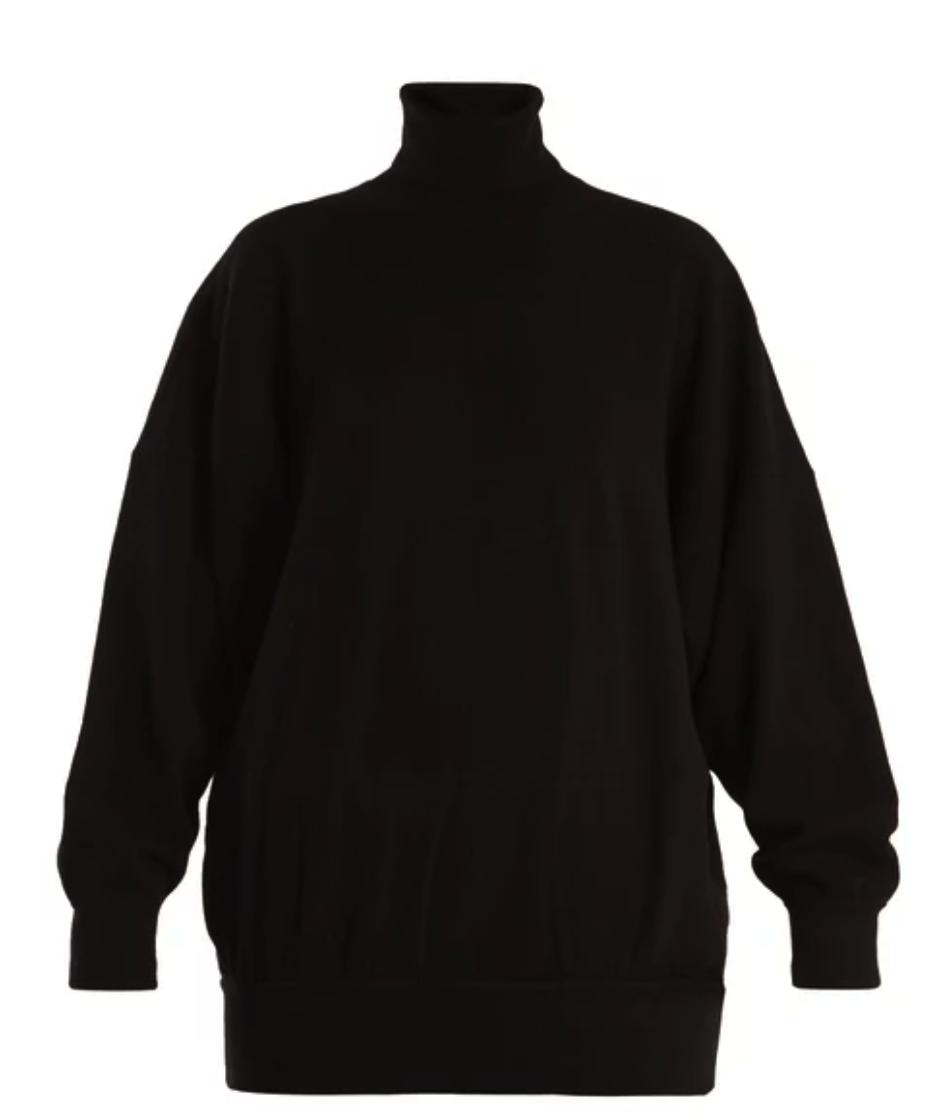 Balenciaga Oversized roll-neck sweater