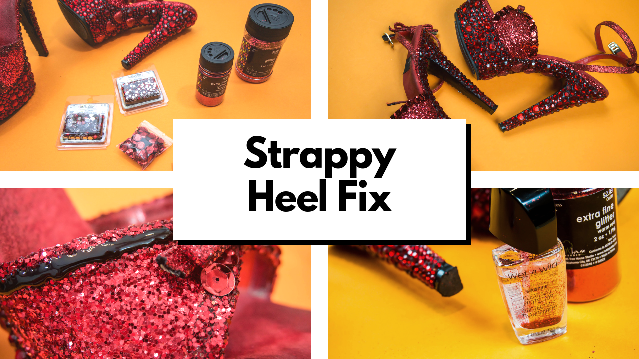 6d1b6e2aed4e DIY Luxury Shoe  Strappy Heels to Make Your Outfit Pop