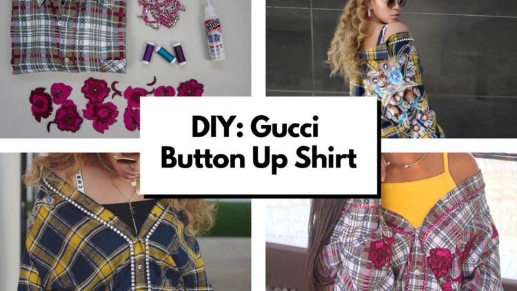 a66e53f13 Gucci DIY Project  Alessandro Michele Does It Again (Beyoncé Inspired)