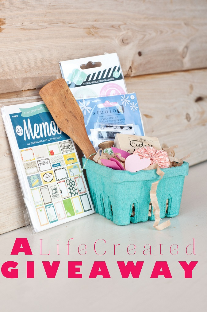 lifecreated giveaway