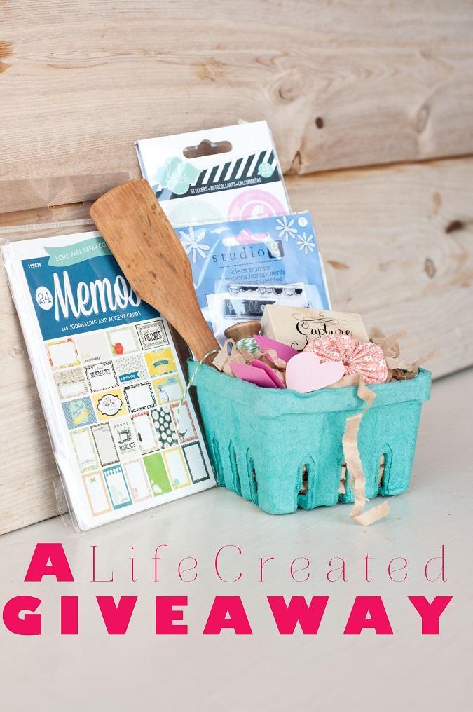 lifecreated giveaway