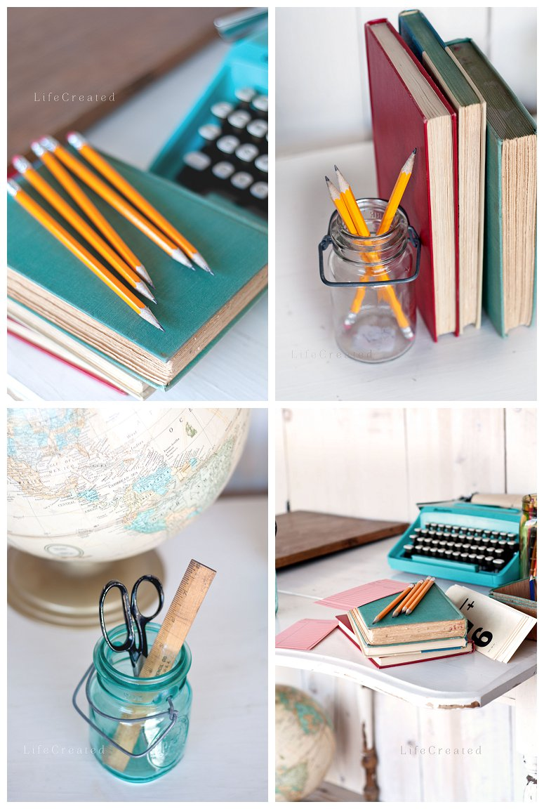 vintage school supplies