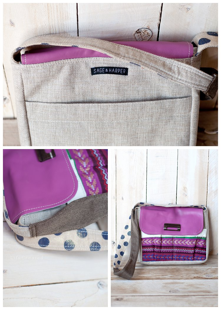 Sage & Harper Bag Giveaway at LifeCreated