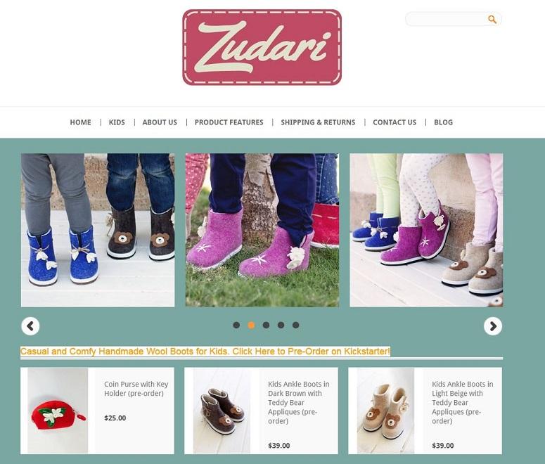 kids boots by ZUDARI