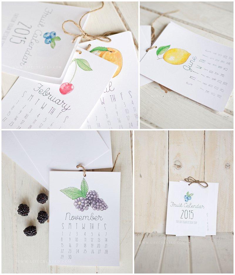 2015 fruit calendar