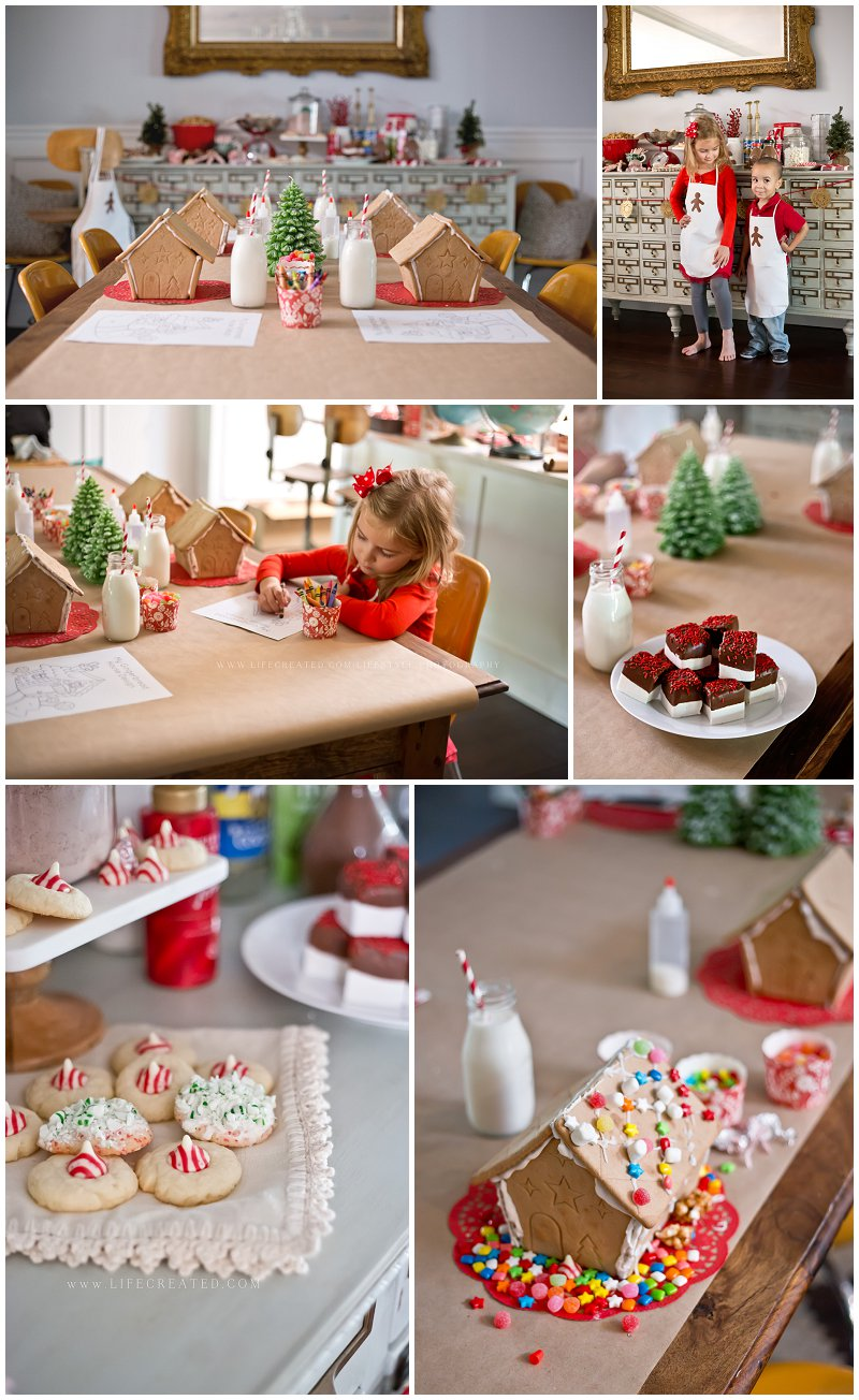 gingerbread styled party