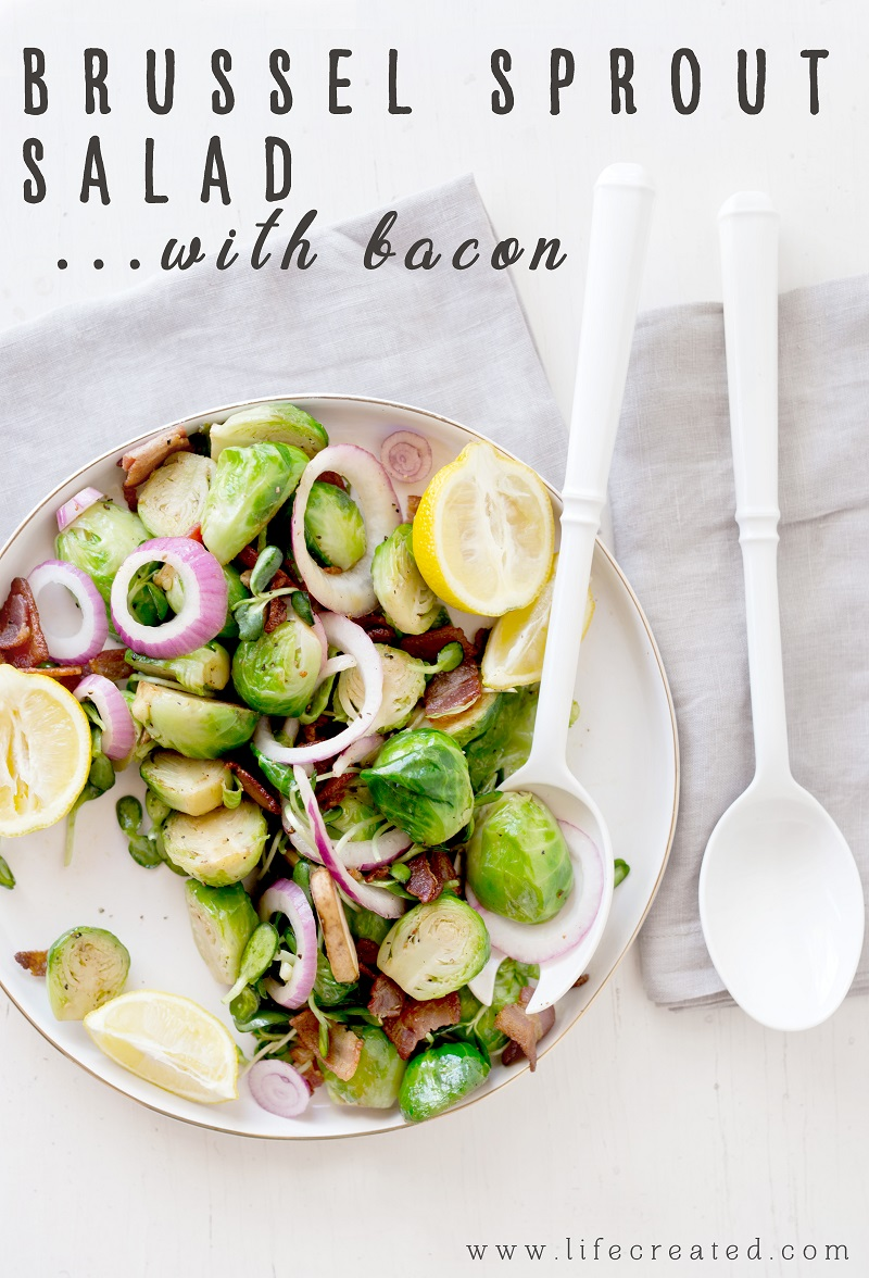 Recipe: Brussel Sprout Salad