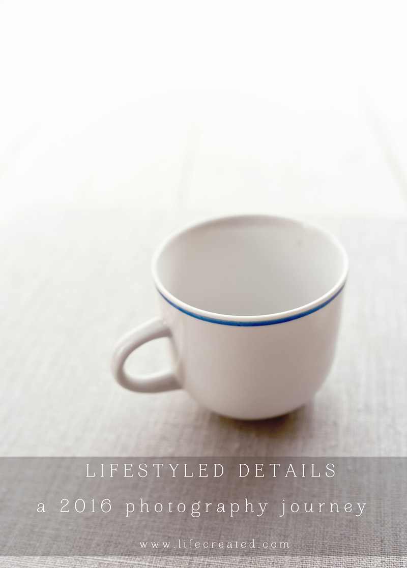 lifestyled details photography challenge